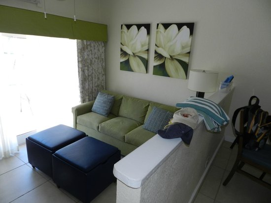 Bluebeard's Beach Club and Villas: living room