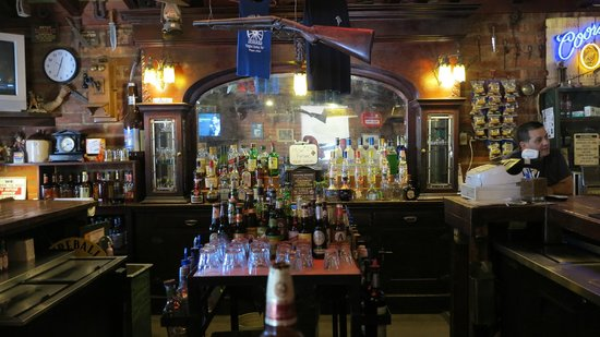 Wagon Wheel Saloon: Could be a western  movie..