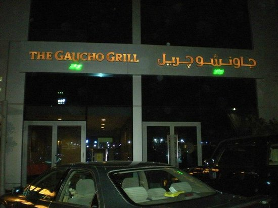 Gaucho Grill: Outside of restaurant