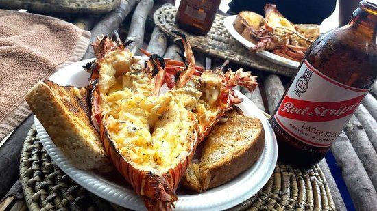 Don Fresh Lobsters: Le plat