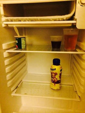 BEST WESTERN PLUS Panhandle Capital Inn & Suites : view of mini fridge