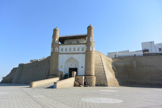Ark Fortress: アルク城の入口です