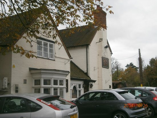 The Dog Inn: Front of pub