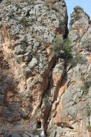 Cañón de la Calobra: The way in/out