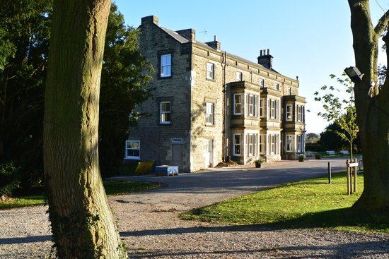Burythorpe House : Renovation work almost finished in Oct 14