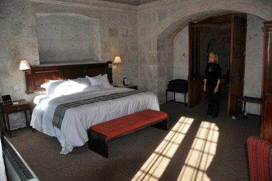 Casa Andina Premium Arequipa: Large comfortable bed