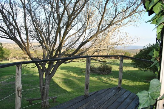 Rorke's Drift Lodge : View from our bedroom
