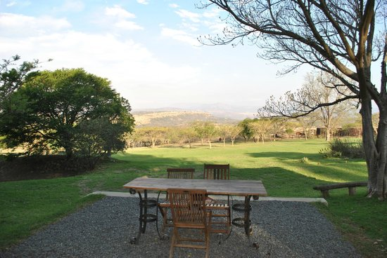 Rorke's Drift Lodge : View from our room