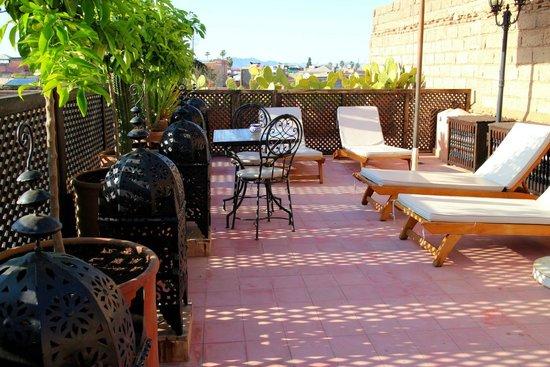 Riad Marrakiss : Terraza