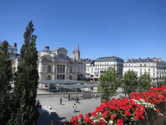 Hotel Saint Julien: Blick vom Balkon