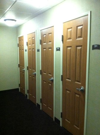 Staybridge Suites Chattanooga Downtown: Storage Units for long term guests
