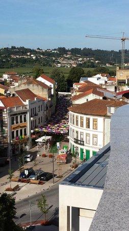 Hotel Conde de Agueda: Vistas desde la terraza y habitación