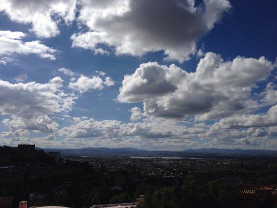 Casa Puesta Del Sol: Vista desde la Terraza