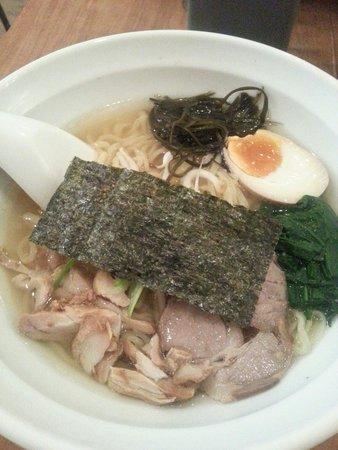 Fou Fow Ramen: Chicken and Pork broth Classic (Shio Classic)
