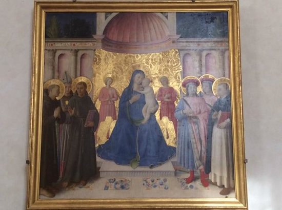 Museo di San Marco: Madonna & Child with saints
