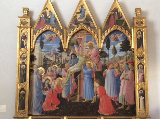 Museo di San Marco: Lowering the dead Christ from the cross