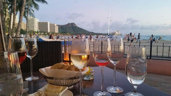 Azure Restaurant: Can't beat the view! Our Azure Experience