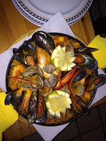 Restaurante El Capuchino 501: Seafood Paella