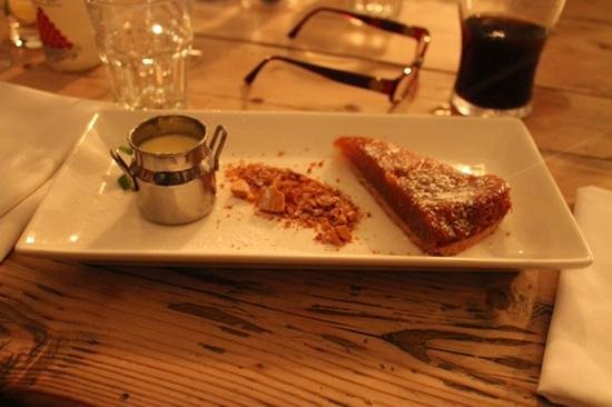 The Ragged Cot Restaurant: treacle tart