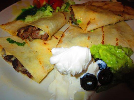 Santa Fe Restaurant: Steak Quesadillas