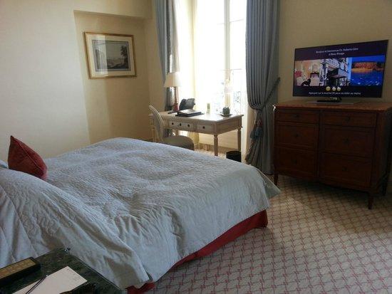 Hotel Beau-Rivage Geneva: la camera