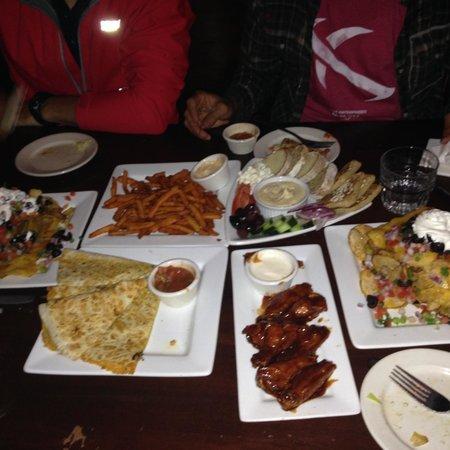 Kells Irish Restaurant & Pub: Apps were great!