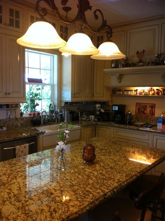 Nob Hill Riverview Bed & Breakfast: Kitchen at the Inn...