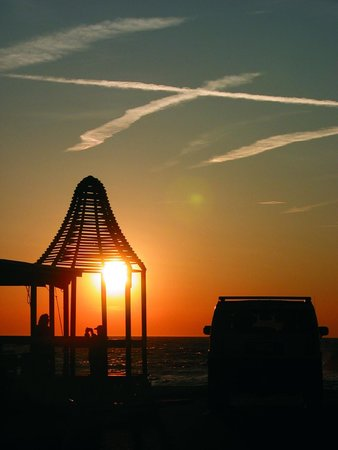 Cape May Point, NJ: Pavilion Sunset