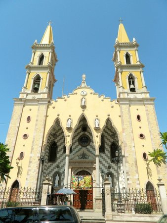 Immaculate Conception Cathedral: As you enter the grounds you are  greeted with this grand view.