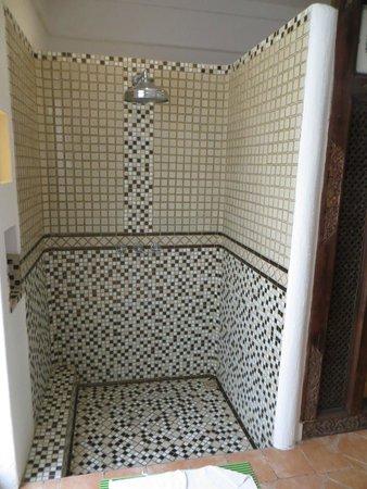 Hotel Puri Tempo Doeloe: La douche