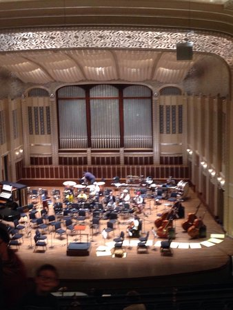 Cleveland Orchestra at Severance Hall: Preparing for the Halloween concert!!!!