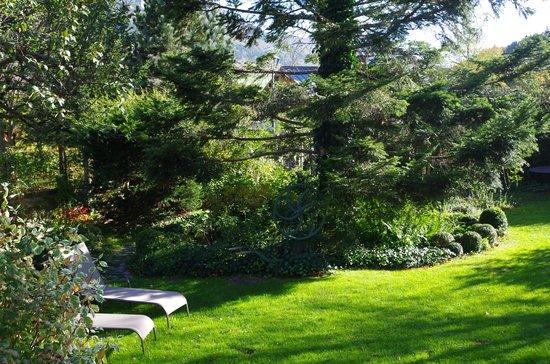 La Vercorelle : le jardin