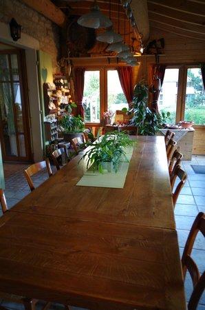 La Vercorelle : salle a manger