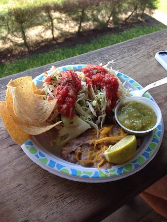 Tropical Taco: Great fish tacos