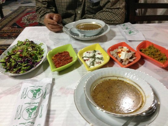 Elif Star Caves: Home made dinner - first course