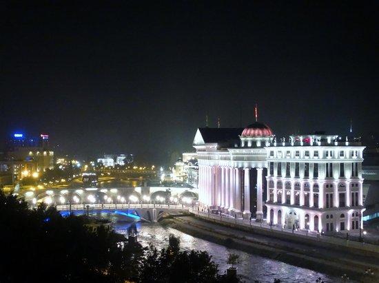 Holiday Inn - Skopje: balcony view