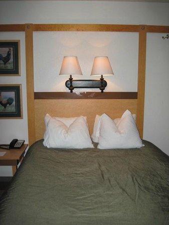 Homestead Resort: Bed area