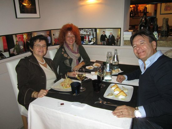 Al Graspo de Ua Restaurant : Serata deliziosa