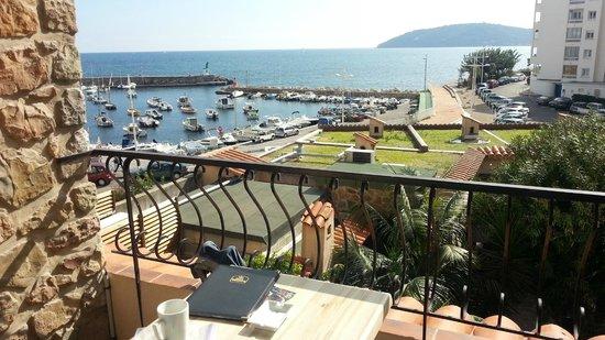 Best Western Plus La Corniche: View from room 22