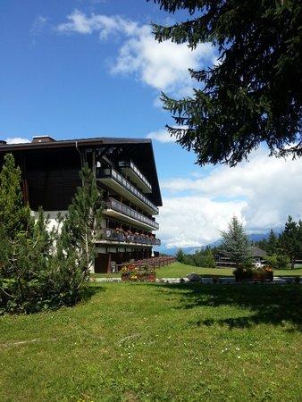 Maeva Résidence Le Mont d'Arbois : Un des deux bâtiments de la résidence, face au Mont d'Arbois