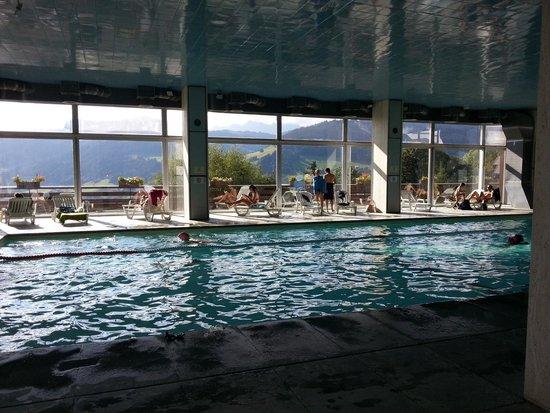 Maeva Résidence Le Mont d'Arbois : La piscine de la résidence, grande et très agréable