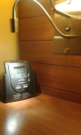 Hilton Garden Inn Kutahya: Radyolu alarmlı saat