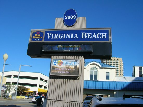 Shoreline grill bw plus oceanfront picture of best for Best western virginia beach