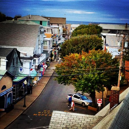 Oak Bluffs Inn: View from the tower.