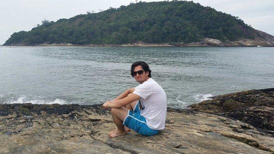Pernambuco e do Mar Casado Beach: Vista das pedras.