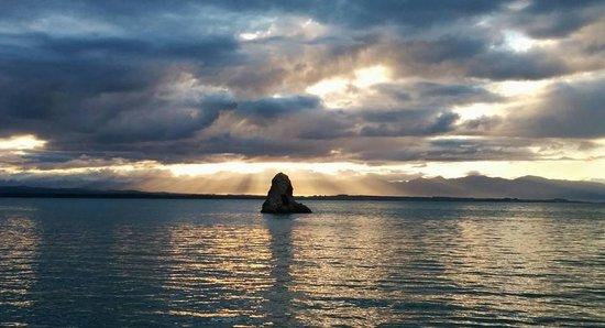 Aloha Lodge: The Rock in the Tasman Bay