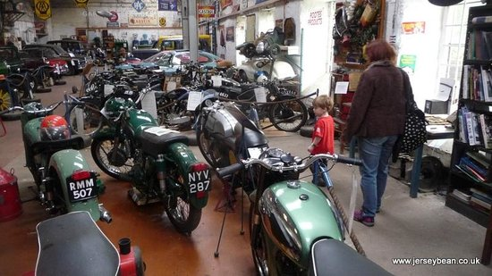 Llangollen Motor Museum: Massive collection for the size of the place