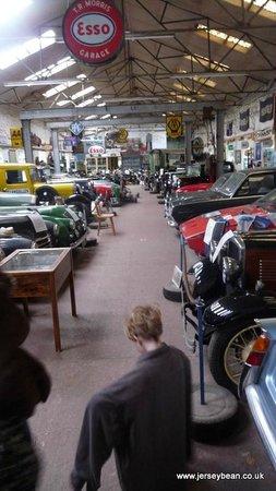 Llangollen Motor Museum: Wearing Daddys fleece as feeling a little cool
