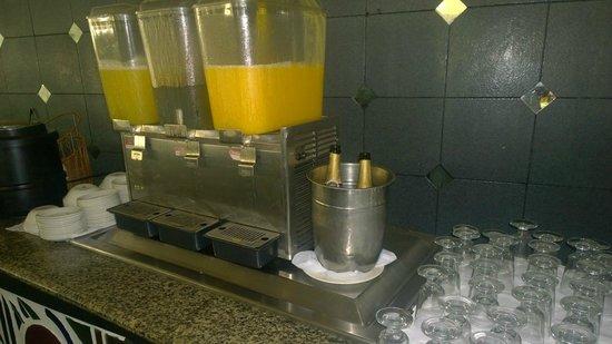 Hedonism II: Mimosa Breakfast Station