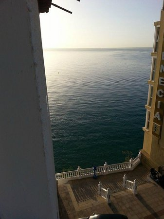 RH Hotel Canfali : The view from our side room window